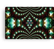 Macro Glass 2 Canvas Print
