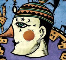 Pierrot Sticker