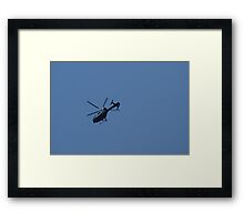 Watching Me Watching You.... Framed Print