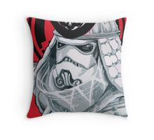 Samurai Trooper Throw Pillow