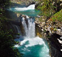 Johnston's Canyon River Hike - 4 by JillCM