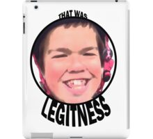 Legitness iPad Case/Skin