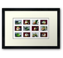 Mixed Fingerfood  Framed Print