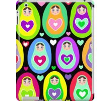 cute dolls Matryoshka iPad Case/Skin