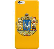 Ukraine: Proposed Greater Coat of Arms & Flag iPhone Case/Skin