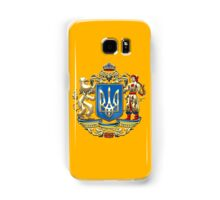 Ukraine: Proposed Greater Coat of Arms & Flag Samsung Galaxy Case/Skin