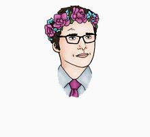 Flower Crown James Wesley Unisex T-Shirt