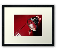 Car mirror* Framed Print