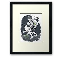 Before it's too late... Framed Print