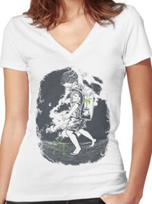 Before it's too late... Women's Fitted V-Neck T-Shirt