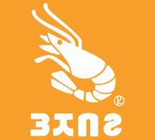 Splatoon - Shrimp Kicks Tee by Red82Creative