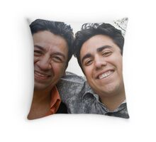 My Dad and I at My College Graduation Throw Pillow