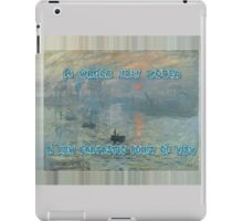 Monet | Aladdin (World) iPad Case/Skin