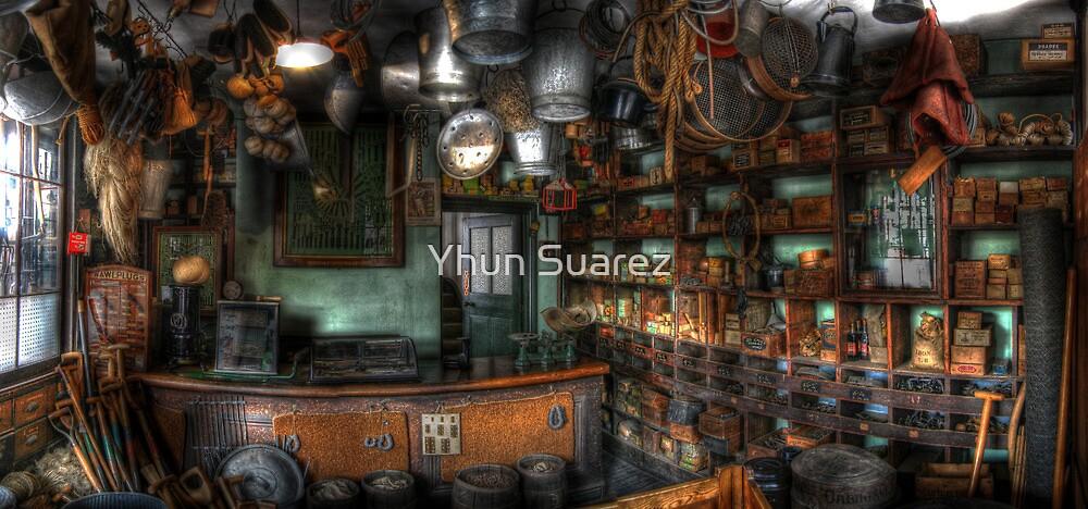Ironmonger's Shop by Yhun Suarez