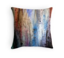 Grunge Watercolor Throw Pillow