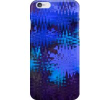 Waves in Blue iPhone Case/Skin
