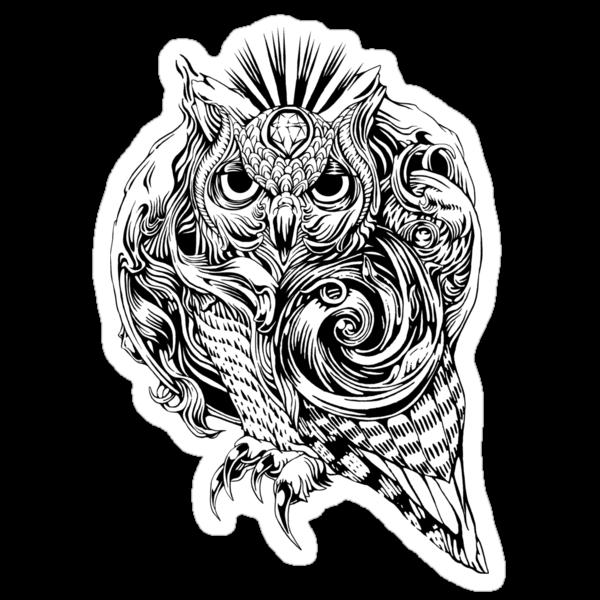 Owl by jimiyo