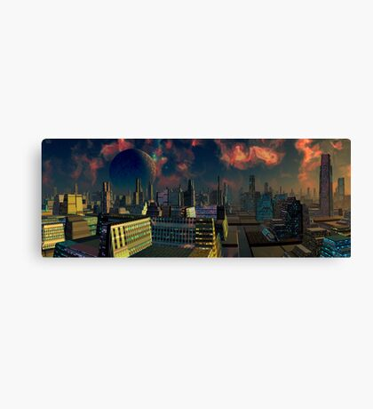 Only Human Canvas Print