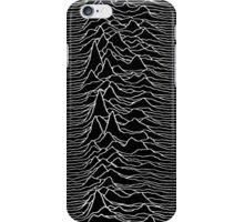 Pulsar waves - Black&White iPhone Case/Skin