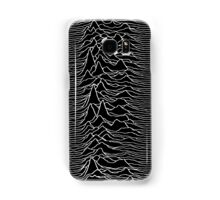 Music band waves - Black&White Samsung Galaxy Case/Skin
