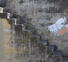 Concrete Stair by April Johnson