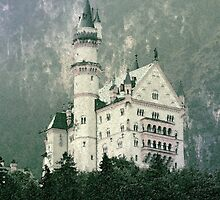 Confectionary Castle - Neuschwanstein by Dawn Crouse