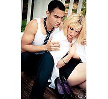 Intimate moment Photographic Print