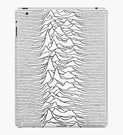 Music band waves - white&black iPad Case/Skin