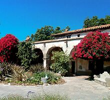 Mission San Juan Capistrano - Padre Quarters by Cupertino