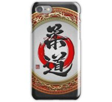 Japanese calligraphy - Judo iPhone Case/Skin