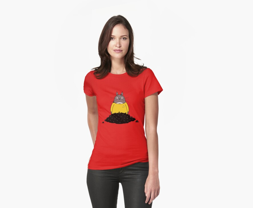 The Trouble With Sprites - Gold Shirt Version by Kellyanne