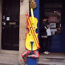 Cello Fan by biddumy