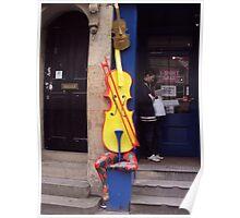 Cello Fan Poster