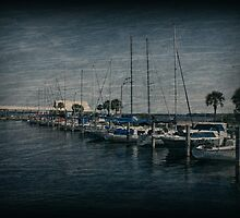 Sailboats by Sandy Keeton