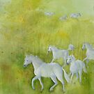 White Horses by Kay Hale
