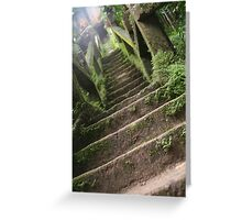 The Forty-Nine Steps of the Grand Staircase Greeting Card