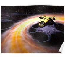 Space Truckin Poster