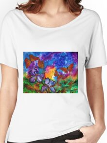 Monarchs at Sunset Women's Relaxed Fit T-Shirt