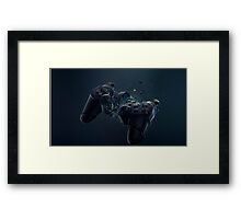 Controller out of control Framed Print