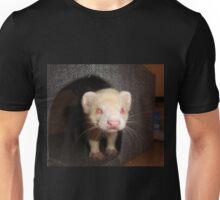 Albino Ferret, Macro Unisex T-Shirt
