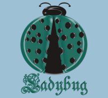 Aqua Ladybug2 Children T-shirt Baby Tee