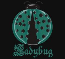 Aqua Ladybug2 Children T-shirt Kids Clothes