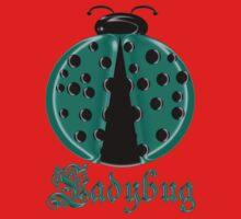 Aqua Ladybug2 Children T-shirt Kids Tee
