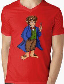 I Am A Baggins of Gallifrey! Mens V-Neck T-Shirt