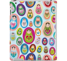 doll matryoshka iPad Case/Skin
