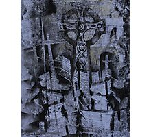 The Cross and the Tomb Photographic Print