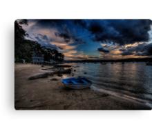 Darkness Falls - Paradise Beach, Sydney - The HDR Experience Canvas Print