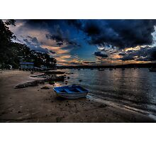 Darkness Falls - Paradise Beach, Sydney - The HDR Experience Photographic Print