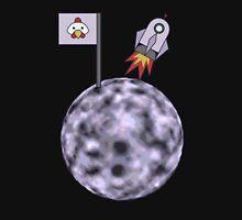 Space Chicken Blasts Off Unisex T-Shirt