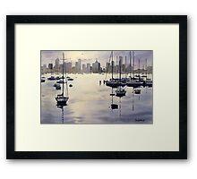 Williamstown Sunrise, Melbourne Framed Print